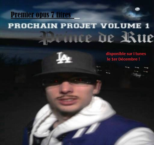 Prochain Projet volume 1  disponible sur I tunes Lundi prochain : https://itunes.apple.com/fr/album/prochain-projet/id943911833?i=943911838&ign-mpt=uo%3D4