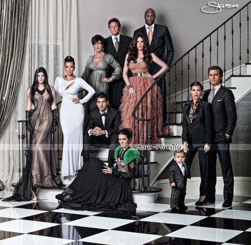Kardashian Jenner ( Disick,Odom )  Family