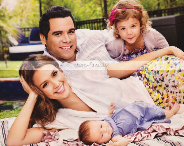 Jessica Alba, Cash Warren, Honor Marie & Haven Garner Warren