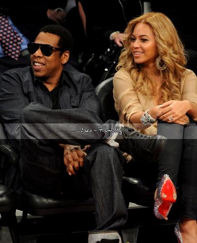 Shawn Carter (Jay-Z)  et sa Femme Beyoncé Knowles