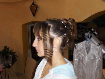 Demoiselle Dhonneur X Hairs Libre Coiffure