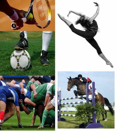 Fiche de Vocabulaire: Les sports.
