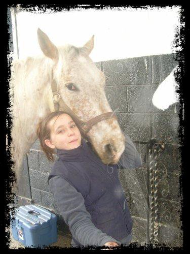 C'était Rodéo!C'était le cheval avec le quelle j'ai fais ma souplesse!<3