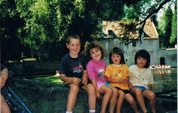 Romain, Laurie, Justine & Amandine  ♥