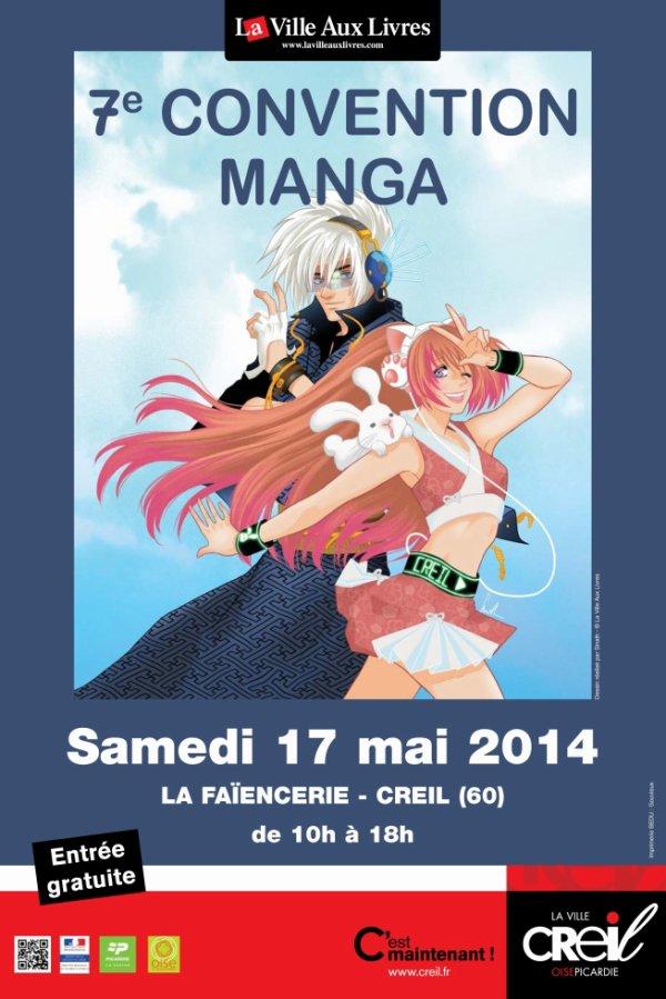 7eme convention manga de creil!