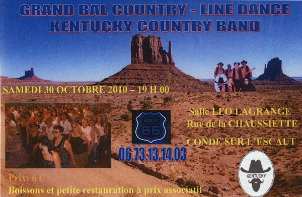 GRAND BAL COUNTRY DU 30 OCTOBRE 2010 A CONDE SUR L'ESCAUT