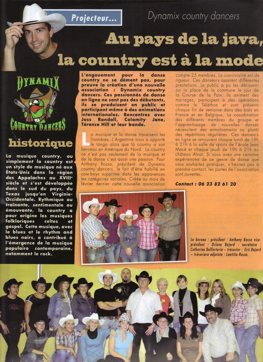 MON CLUB DE COUNTRY