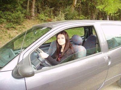 moi et ma premiere voiture - sanlie