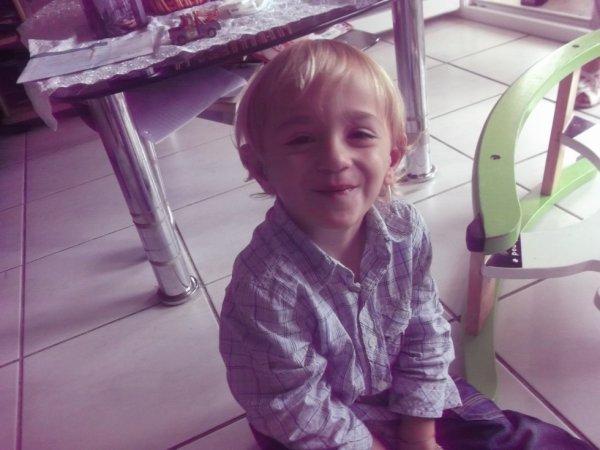 Mon petit prince Mario 3 ans