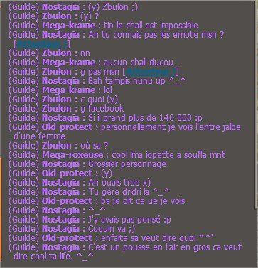 De l'xp, des potes what else ?
