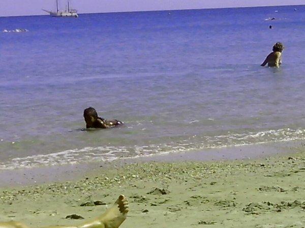 La plage de la BD