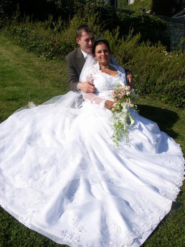 Notre mariage le 04/08/2007