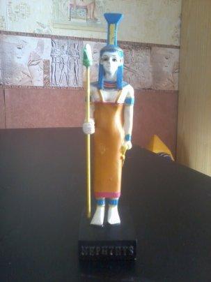 EGYPTE              :           LA  DEESSE   NEPHTHYS