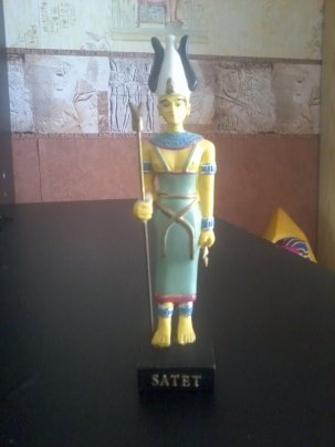 EGYPTE                  :     LA          DEESSE    SATET
