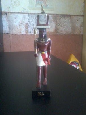 EGYPTE                         :               LE  DIEU    KA                   -