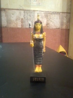 EGYPTE                                                :               LA  DEESSE    SELKIS