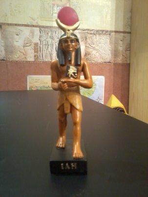 EGYPTE                                                                                                            :               LE  DIEU     IAH