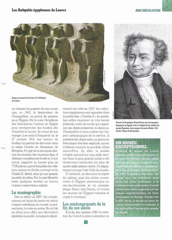 LES  MUSEES   (  LOUVRE )  .
