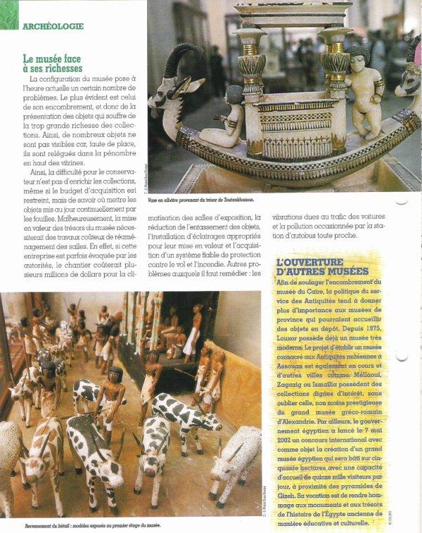 LES  MUSEES  (  DU  CAIRE  )  .