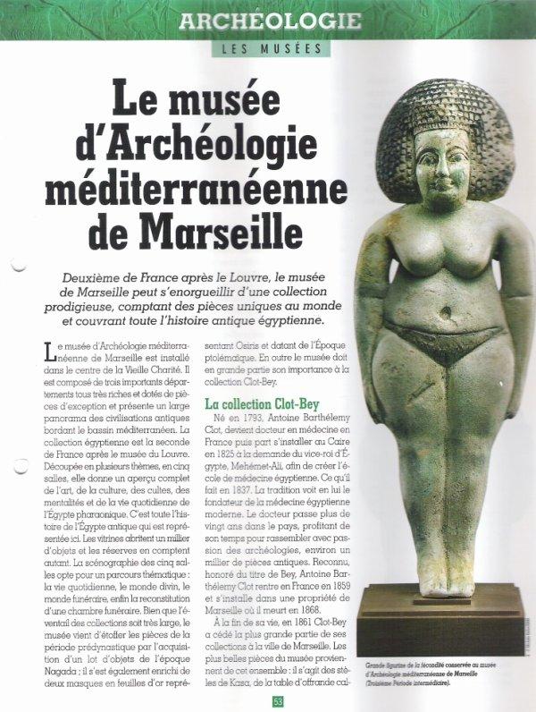 LES  MUSEES  (  DE  MARSEILLE  )  .