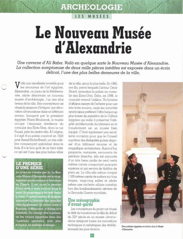 LES  MUSEES  (  D  ALEXANDRIE  )  .