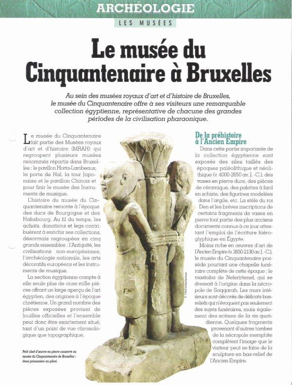 LES  MUSEES  (  DE  BRUXELLES  )  .