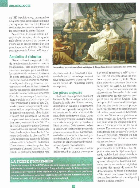 LES  MUSEES  DE   (  BOLOGNE  )