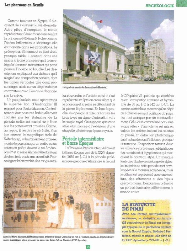 LES  MUSEES   (  DE  MONTREAL  )  .