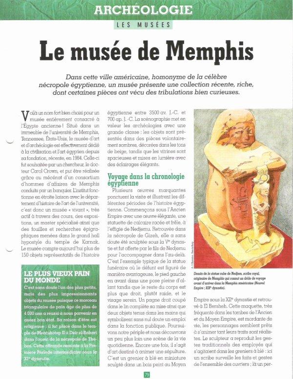 LES  MUSEES  (  DE  MEMPHIS  )