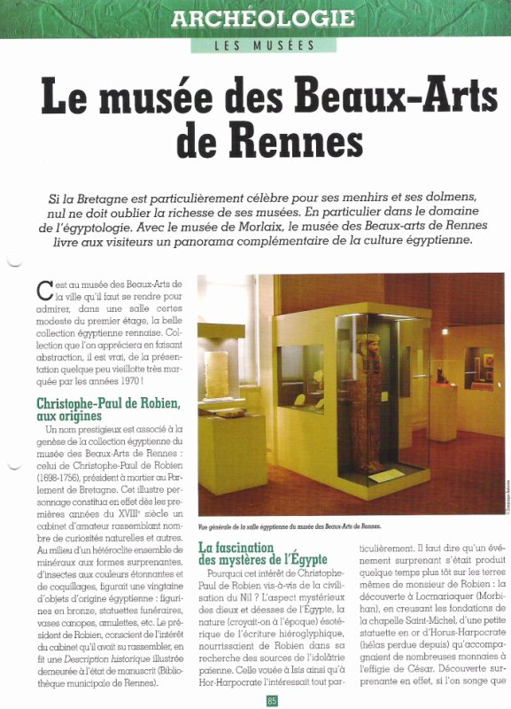 LES   MUSEES  (  DE  RENNES  )  .