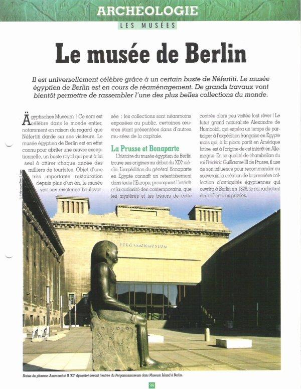 LES  MUSEES  (  DE  BERLIN  )  .