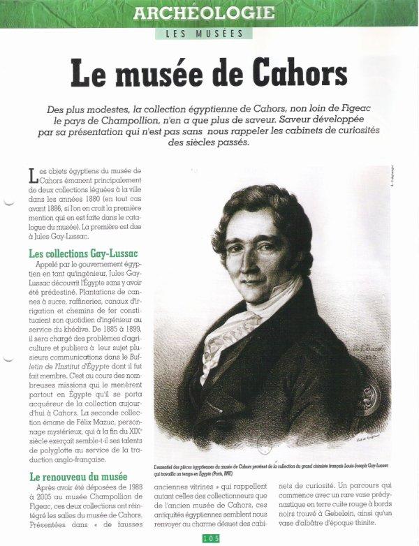 LES  MUSEES  (  DE  CAHORS )  .