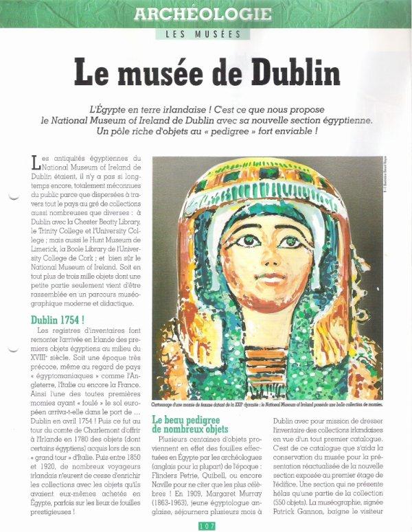 LES  MUSEES  (  DE  DUBLIN  )  .