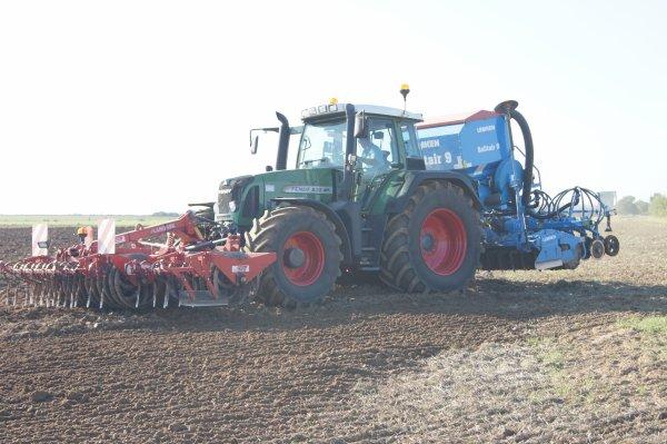 semis blé fendt 820+ semoir solitaire9 4 metres