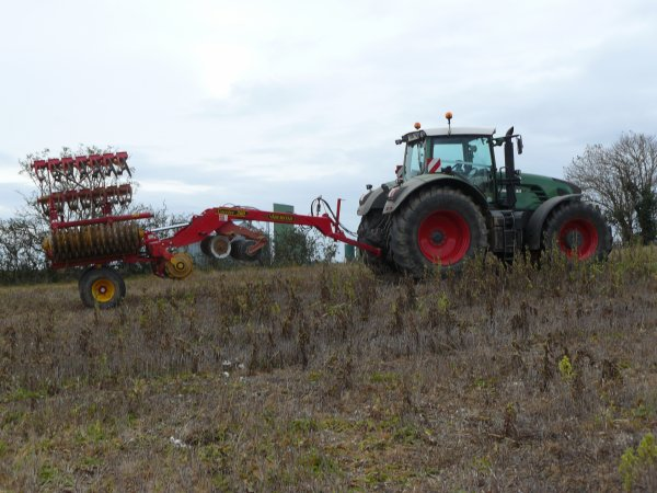 fendt 933 + carried 500