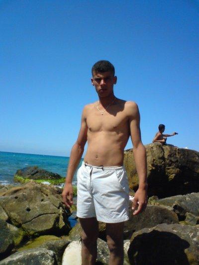 yasser dans la plage
