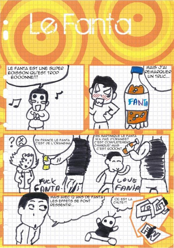 Chroniques #9: Le Fanta