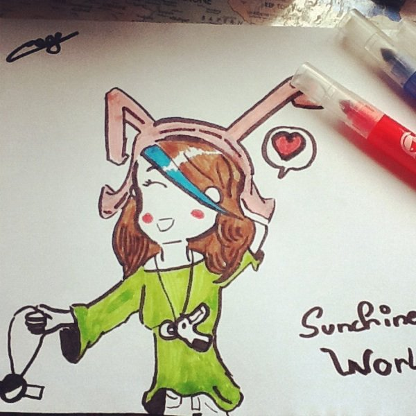 Chroniques #49: Sunchine World Fan-Art !