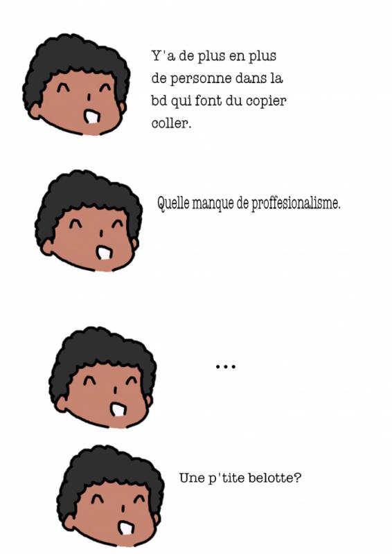 Chroniques #65 : Copier/Coller
