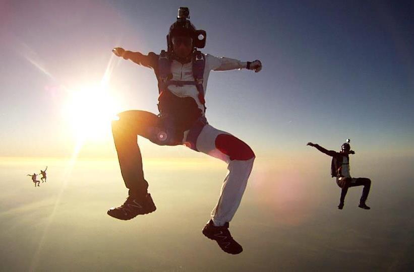 Skydiveparachutséba