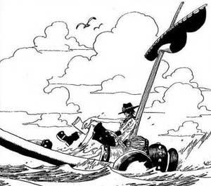 Lolie personnage inventé One Piece