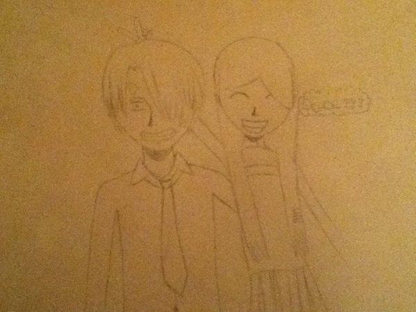 Sanji with Lolie (me) !