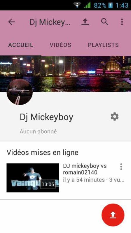 Abonnez-vous a ma chaîné YouTube merci a vous
