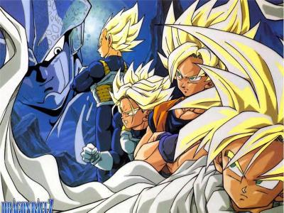 Trunks vegeta sangoku sangohan en super sayen vs cell - Sangoku sangohan ...