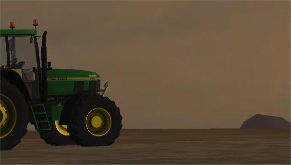 Déchaumage, labour, puis semis de maïs dans la Ferme Poémi.