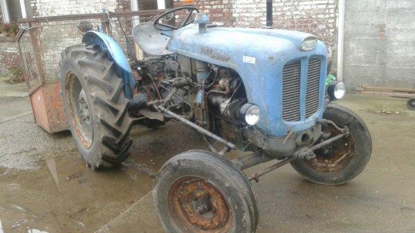 Mon vieux landini r4000