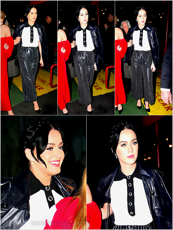 . 28.03.15 // Katy s'est rendue au théâtre Barrymore à Broadway, à New York.