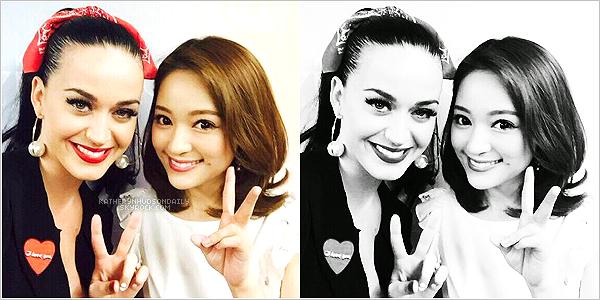 . 24.04.15 // Katy se baladait dans les rues de Tokyo, au Japon.