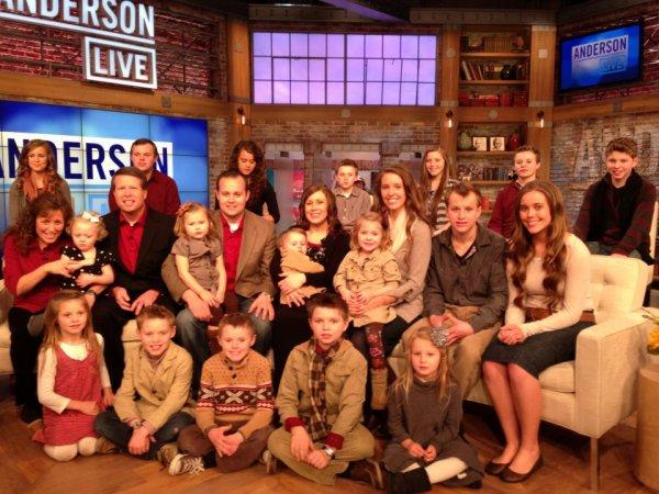 Famille Duggar, le 25 mars 2013