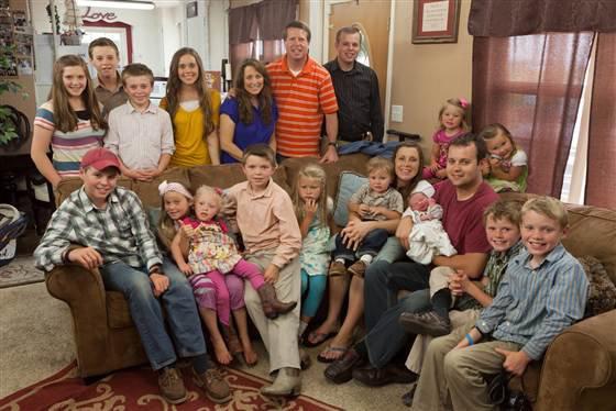 Nouvelle photo de famille pour les Duggar